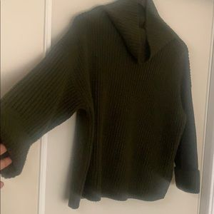Lord & Taylor Sweaters - Crop Funnelneck Sweater